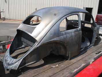 4060 acid dipped volkswagon beetle body