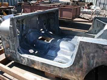 7110 Acid Dip Jeep Body Tub Cj Jpg