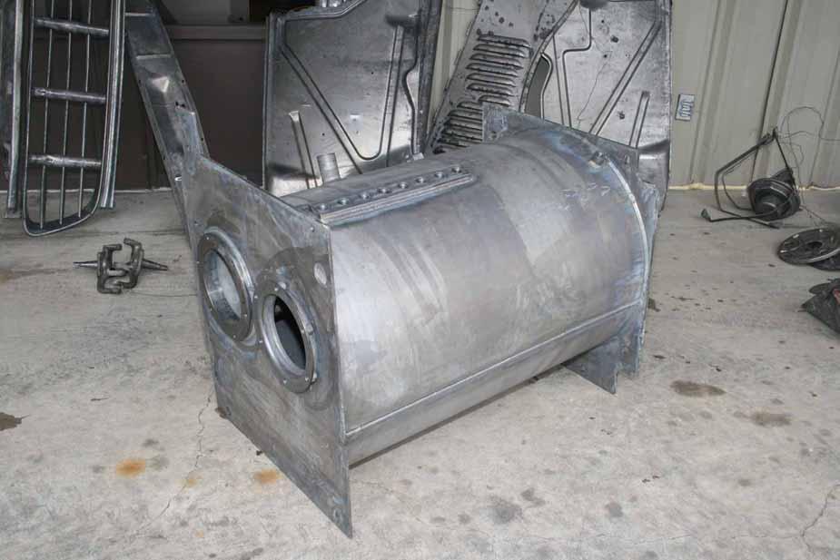 MetalWorks Paint & Rust Removal: Caustic Hot Tank Dip, Fresh Water